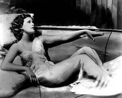 Sex Symbol Photograph - Hedy Lamarr by American School