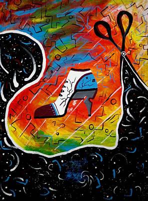 Heel Of Stars Print by Kenal Louis