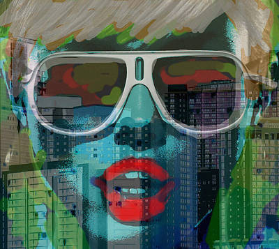 Nyc Mixed Media - Hot In The City  by Paul Sutcliffe