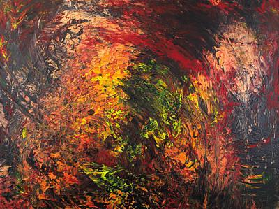 Pentagram Art Painting - Helbound 3 by Embrace the Matrix