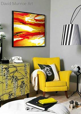 Munroe Painting - Helios. by David Munroe