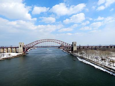 Hell Gate Bridge  Print by Kenneth Summers