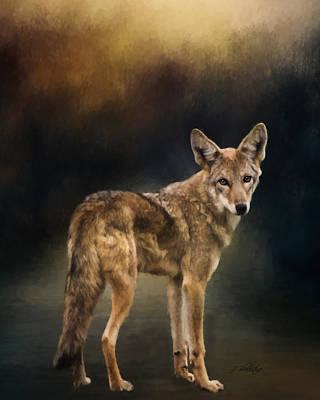 Jordan Painting - Hello Goodbye - Wildlife Art by Jordan Blackstone