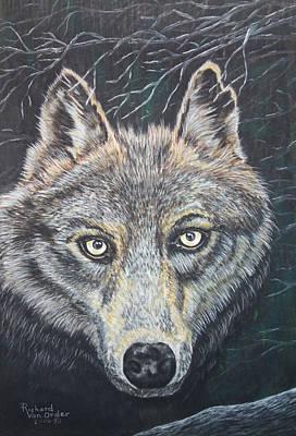 Hello Mr Wolf Original by Richard Van Order