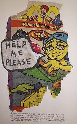 Help Me Please Print by William Douglas