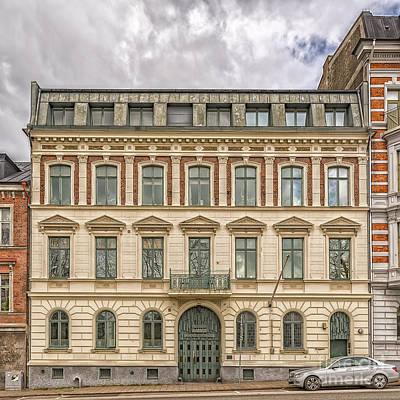 Helsingborg Photograph - Helsingborg Building Frontage by Antony McAulay