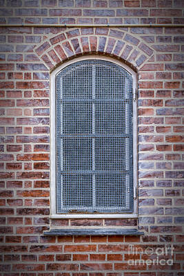 Grate Photograph - Helsingor Grilled Window by Antony McAulay