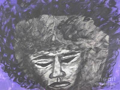 Jimmy Hendrix Painting - Hendrix In Purple by Jeffrey Koss