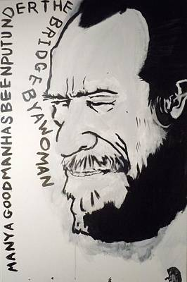 Bukowski Painting - Henry Chinaski by B T