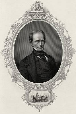 Henry Clay 1777-1852 American Statesman Print by Vintage Design Pics