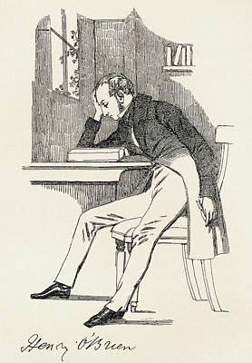 Henry O Brien, 1808 - 1835. Irish Print by Vintage Design Pics