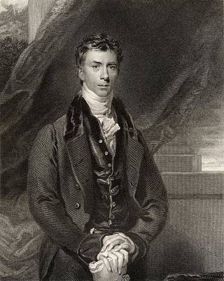 Orator Drawing - Henry Peter Brougham 1st Baron Brougham by Vintage Design Pics