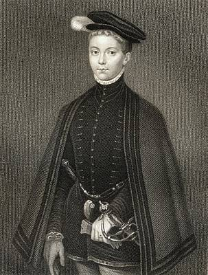Lord Drawing - Henry Stewart Lord Darnley, Also by Vintage Design Pics