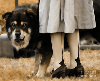 Shoes Photograph - Her Guardian  by Steven  Digman