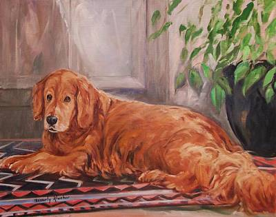Her Siesta Carpet Print by Beverly Klucher