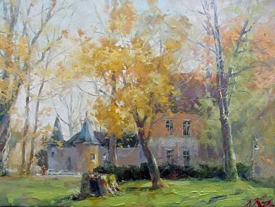 Herbst In Lobberich Ingenhovenpark Original by Volodymyr Klemazov
