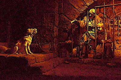 Pirates Digital Art - Here Doggy by Steve Newman