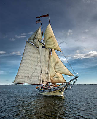 Windjammer Photograph - Heritage by Fred LeBlanc