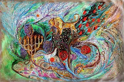 Painting - Heritage Series #1. Lion Of Judah by Elena Kotliarker