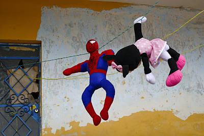 Man Photograph - Hero Complex by Skip Hunt