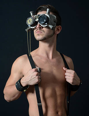 Steampunk Photograph - Heroic Steampunk by Evan Butterfield