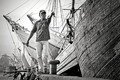 Harbor Photograph - \hey!\ by Hengki Lee