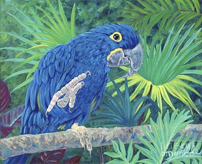 Hi Blue Original by Danielle  Perry