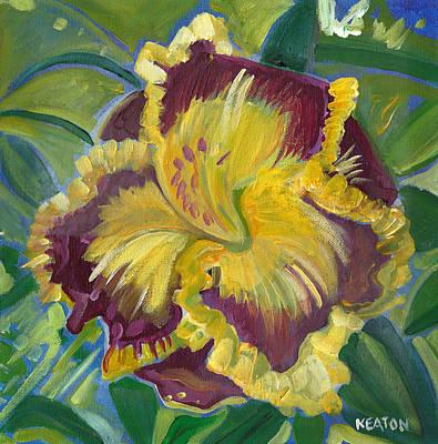 Painting - Hibiscus 2 by John Keaton