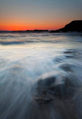 Beneath Photograph - Hidden Beneath The Tides by Mike  Dawson