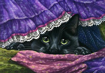 Realism Photograph - Hidden Under The Fabric by Irina Garmashova-Cawton