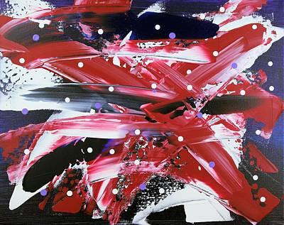 Pentagram Art Painting - Hidden Vision by Chuck Taylor