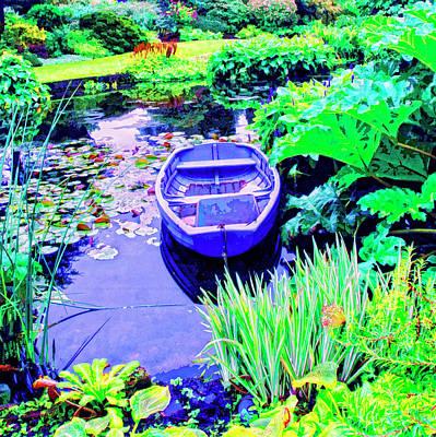 Rowboat Mixed Media - Hideaway by Dominic Piperata