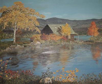 Lassen Painting - Hideaway by Traci Hallstrom