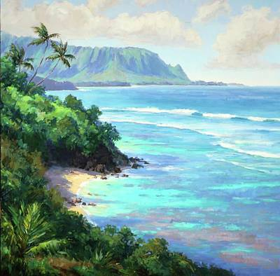 Painting - Hideaways Beach by Jenifer Prince