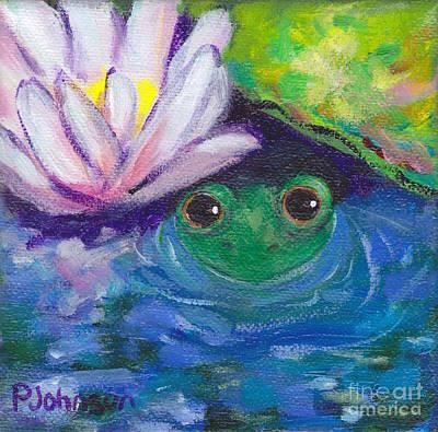 Hiding Spot Original by Peggy Johnson