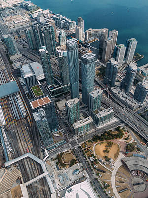 Photograph - High Above Toronto by Thomas Richter