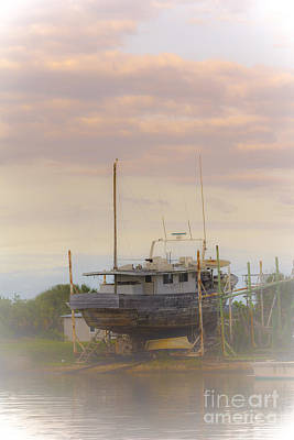Wooden Boat Photograph - High And Dry Dreams by Marvin Spates