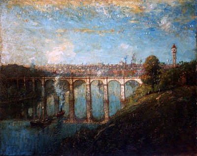 Henry Ward Ranger Painting - High Bridge. New York by Henry Ward Ranger