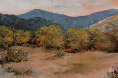 Pinion Painting - High Desert Haven by Rick Citta
