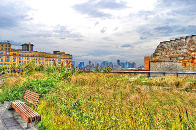 High Line On The Hudson Original by Randy Aveille