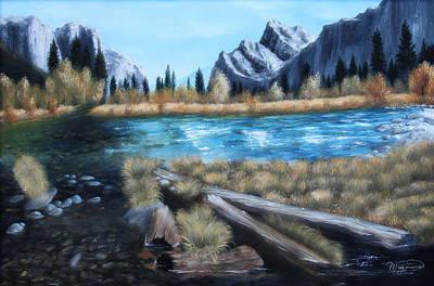 High Mountain Summer Original by Lou Magoncia