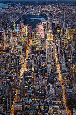 Empire State Building Photograph - High On New York City by Susan Candelario
