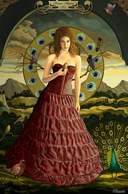 Womens Painting - High Priest by Pamela Wells