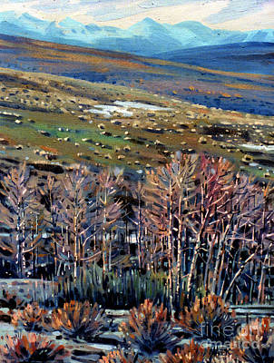 High Sierra Painting - High Sierra by Donald Maier