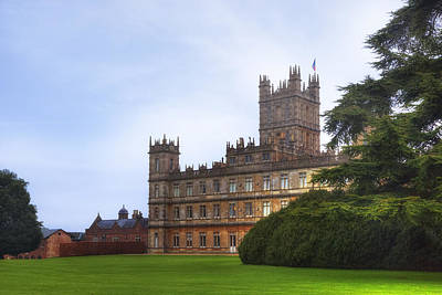 Highclere Castle Print by Joana Kruse