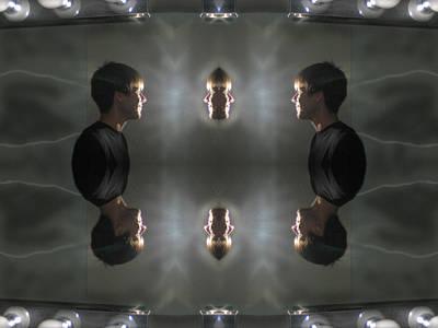 Higher Self Mirror Print by Filip Klein