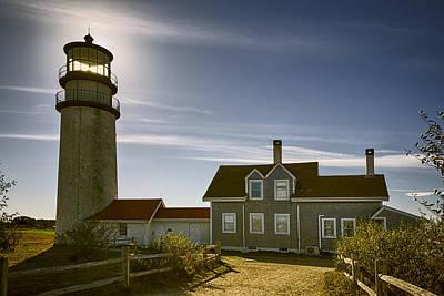 Highland Lighthouse Print by Joan Carroll