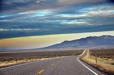 Vanish Photograph - Highway 130 To Minersville by Utah-based Photographer Ryan Houston