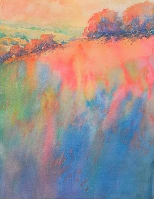 Texas Hill Country Painting - Hill Country Abstract No 1 by Virgil Carter