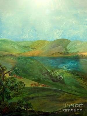 Colorful Painting - Hill Country by Eloise Schneider